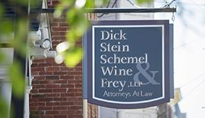 DSS Law Outdoor Sign for Greencastle, Pennsylvania Location