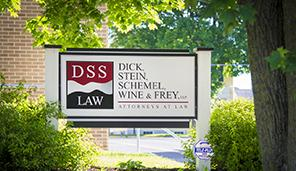 DSS Law Outdoor Sign for McConnellsburg, Pennsylvania Location